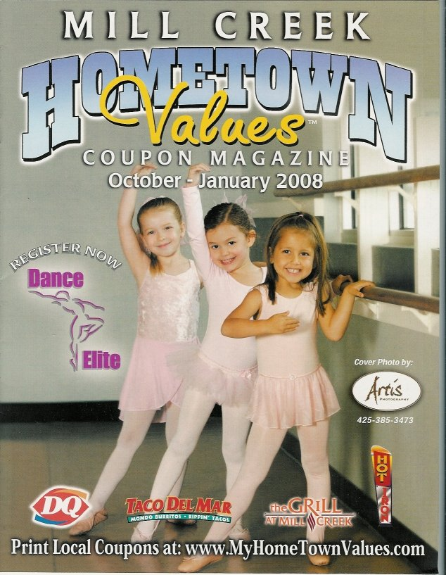 Hometown Values Magazine cover